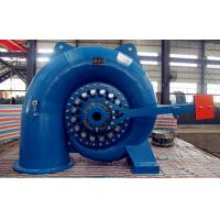 Vertical / Horizontal Francis Hydro Turbine , High Head Water Turbine