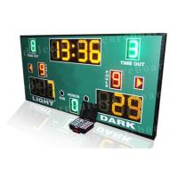 Quality 3 Colors LED Basketball Scoreboard With Wireless PC Software Controller for sale