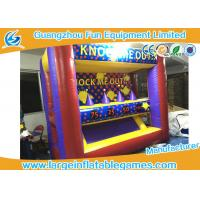 Quality Funny Inflatable Sport Games Hover Ball Shoot Games For Playground / Party Event for sale