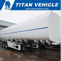 China 50000 Liters Liquid Gasoline Fuel Diesel Tank Truck Trailer for Sale | TITAN VEHICLE on sale