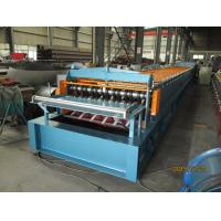China Automatic Metal Deck Roll Forming Machine / Steel Deck Roll Former on sale