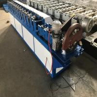Buy cheap 3kw High Speed Shutter Door Roll Forming Machine Space Save In Blue Color from wholesalers