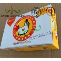 Quality Double Wall Cardboard Food Packaging Boxes , Disposable Cardboard Burger Boxes for sale