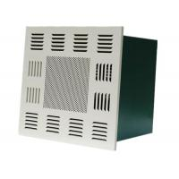 Buy Cleanroom Ceiling Terminal Hepa Filter Box Fan Air Purifier For Food Industrial at wholesale prices
