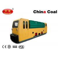 Quality Explosion Proof 12 MTs Double Cabs Battery Locomotive for Underground Coal Mines for sale