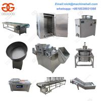 China Hot Selling Drying Type Peanut Frying Machine Line/Drying Peanut Fryer Production Line Supplier on sale