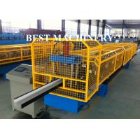 Quality K Type PPGI Gutter Roll Forming Machine For Take Roof Rainwater for sale
