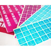 Quality Packaging Custom Peel And Stick Labels , Removable Adhesive Labels For Food for sale