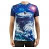 custom design 3d tee shirts all over printing t shirts sublimation printing t shirt for sale