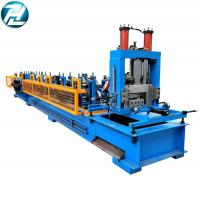 3mm Thickness C Z Purlin Roll Forming Machine 8 - 12mpa Work Pressure for sale