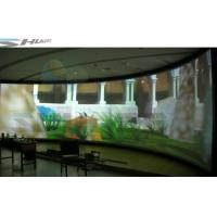 Quality 4D Flat / Arc / Curvature Screen Cinema With Special Effect Simulator System for sale