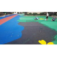 Quality Sports Venues Anti Slip Rubber Nuggets For Playgrounds , Multiple Colors for sale