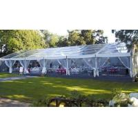 Quality clear tent 15X40m with transparent roof cover and sidewalls for 500 seats outdoor wedding party events for sale