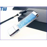 Buy cheap Acrylic Customized Colorful Diamond LED Light Shinning 2GB USB Flash Pen Drive from wholesalers