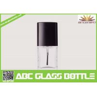 Quality High quality 18ml clear glass bottle with screw cap for nail polish for sale