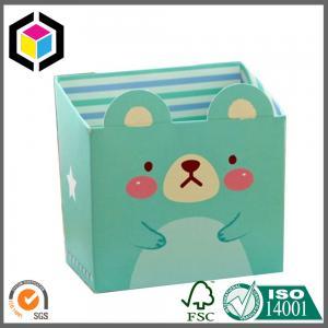 Quality Cute Design Box Color Print Paper Stationery Makeup Cosmetics Desk Mini Carton Box for sale