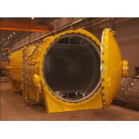 Buy cheap horizontal hot press tank autoclave with inflatable seals and circulation fan from wholesalers