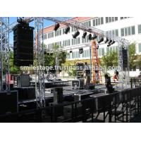 China Professional heavy duty portable stage portable folding stages portable lightweight stage truss on sale