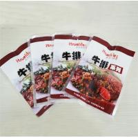 Quality Small Custom Printed Food Packaging Bags Self Adhesive Seal Moisture Proof for sale