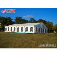 China White Clear Span Wedding Marquee Tent Aluminum Structure Latest Style on sale