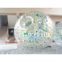 China Giant Inflatable Zorb Ball / Water Zorb Ball For Environmental Water Games on sale