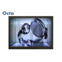 Quality Vertical Digital Transparent Liquid Crystal Display Showcase With Tempered Glass for sale