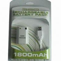 Buy Rechargeable Battery Pack for xBox 360 Game Accessories at wholesale prices