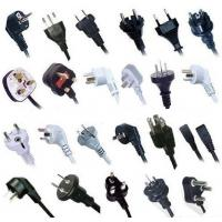 World wide AC power supply cords with all kinds of certificates for sale