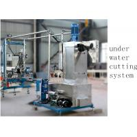 Quality Underwater Pelletizer System Compounding Pelletizing PE Plastic Pellet Extruder 500 kg H for sale