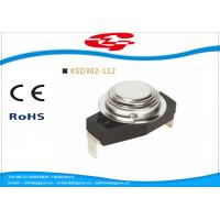 Buy cheap KSD302-112 Automatic reset Snap Disc Thermostat , Bimetal Disc Thermostat from wholesalers