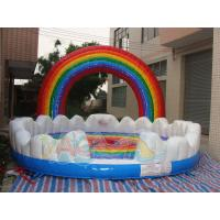 Quality Rainbow Mechanical Bull Cushion for sale
