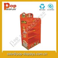 Quality Custom Corrugated Cardboard Display Stands For Coffe Promotion for sale