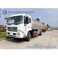 Quality Light Diesel Chemical Tanker Truck / Small Fuel Tanker Truck Max Speed 85 Km / H for sale