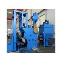 Quality 300L 11kw Tumble Shot Blasting Machine Blast Wheel Automatic Loading System for sale