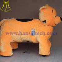 China Hansel hot sale kiddy ride amusement toy walking animal riding for sale
