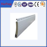 Quality Aluminum roller shutter door Extrusion Formed Slat Profiles for sale