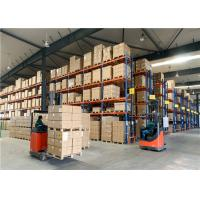 Quality 2-12 Levels Double Deep Storage Racking Systems Special Forklift Access Goods for sale