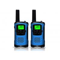 Quality ABS Material Handheld Walkie Talkie Radios Easy To Use For Sports / Travel for sale