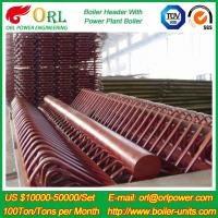 Buy cheap Industry Electrical Water Boiler Power CFB Boiler Header 500MW Rate Factor from wholesalers