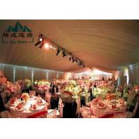 Quality Marquee Gazebo Wedding Event Tents With Sandwich Panel And Wall Curtain for sale
