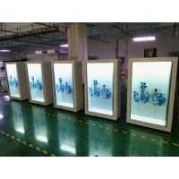 "Quality 400nits 86"" Portrait Transparent LCD Display FCC For Trade Show for sale"
