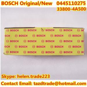 Quality BOSCH Original and New 0445110275 for HYUNDAI/ KIA/ OPEL. 33800-4A500 /338004A500/55200259 for sale