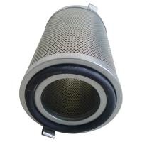 Quality Aluminum Cap Oil Mist Filter Element With Galvanized Perforated Plates Core for sale