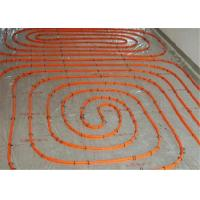 Quality Flexible 20mm Underfloor Heating Pipe , Transparent White Pert Pipe For Hot Water for sale