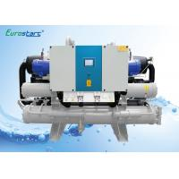 Quality Hanbell Screw Compressor Water Cooled Water Chiller For Indoor Installation for sale