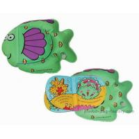 Quality Lovely Fish Shaped Waterproof Baby Books Easy Controlling For Playing for sale