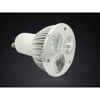 China Warm White / Pure white GU10 LED Spotlight for Home Show Case Lighting 3 Watt 280lm on sale