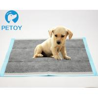 Quality Eco Friendly  Pet Toilet Training Pads Bamboo - Charcoal  Customized Size for sale