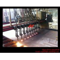 China Flame CNC Gantry Cutting Machine Single Side Drive For Plate Cutting 5000mm Rail span on sale