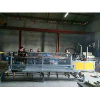 Quality Fully-Automatic PLC control double wire feeding Chain Link Fence Machine for sale